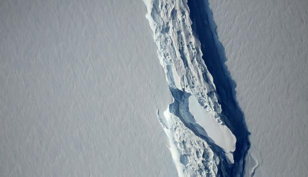 Google Maps: así se ve el iceberg más grande del mundo desde la app