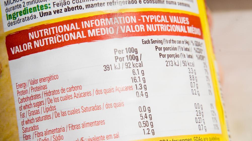 El 81% de los peruanos no revisan las etiquetas de los productos