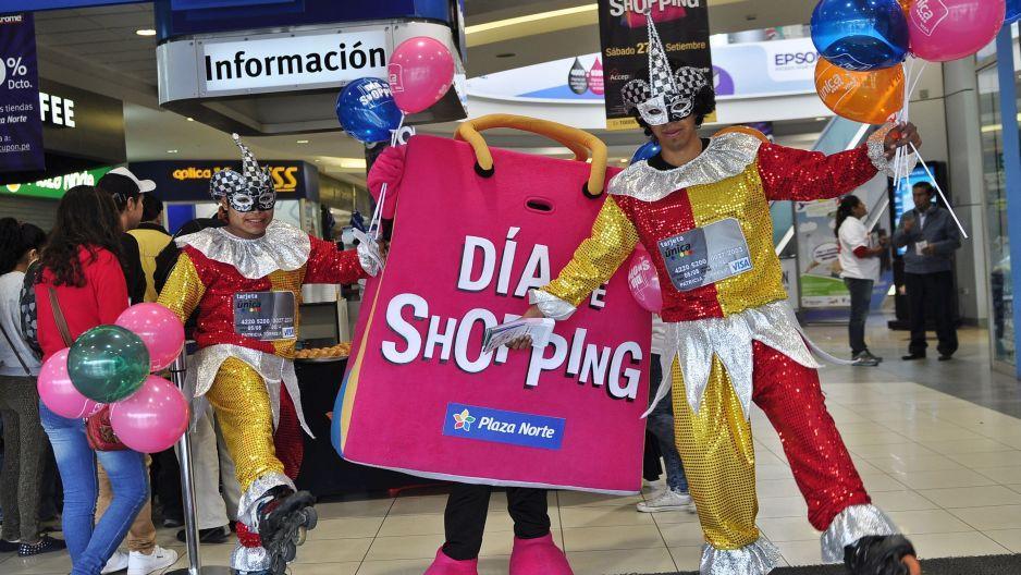 Día del Shopping: Centros comerciales darán hasta 70% de descuentos