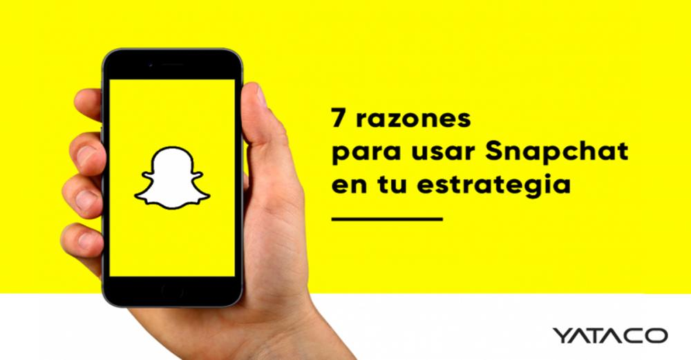 Por qué usar Snapchat en tu estrategia de marketing?