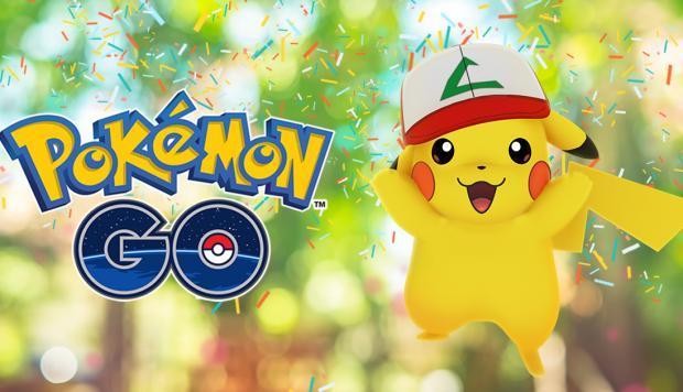 Pokémon Go presenta un nuevo evento por su primer aniversario