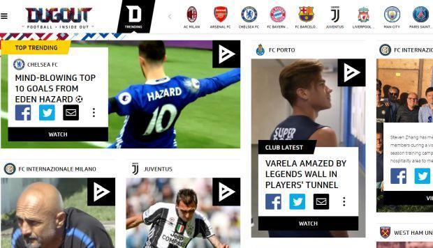 Dugout: la plataforma social dedicada al fútbol europeo