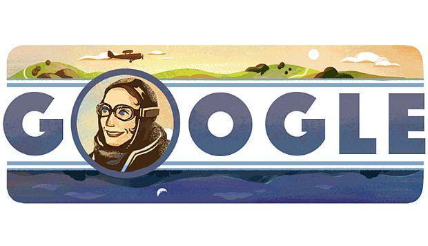 Google celebra a Amy Johnson, pionera de la aviación británica