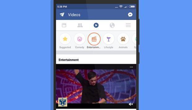 Facebook lanza pestaña para que veas más videos