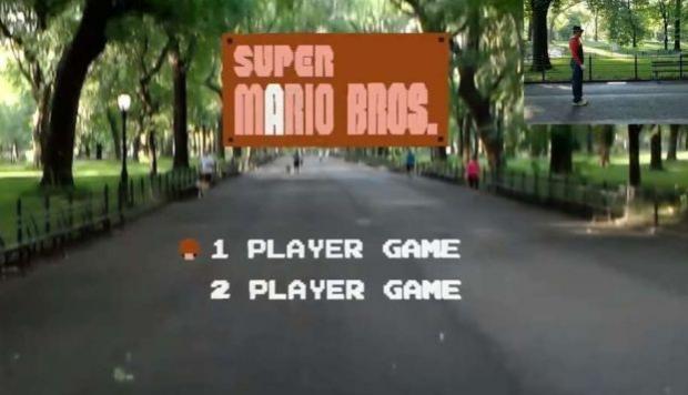 Desarrollador creó versión de 'Super Mario Bros' para realidad aumentada