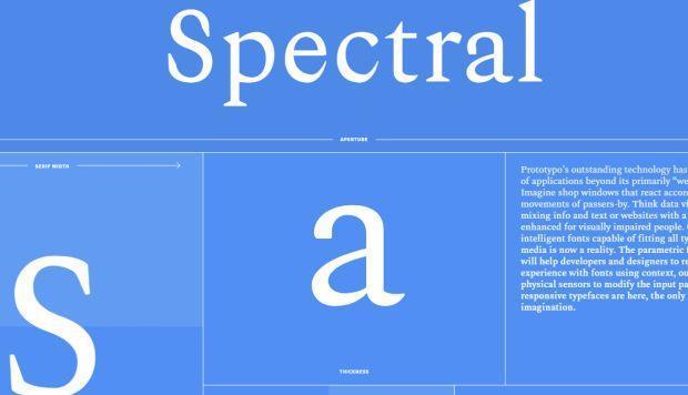 Spectral: la fuente que ha creado Google para facilitar el trabajo de diseñadores