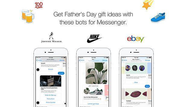 Estos tres 'bots' de Facebook ofrecen ideas de regalo para el Día del Padre
