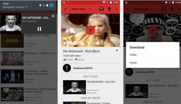 NewPipe, la aplicación para descargar y escuchar videos a través de YouTube
