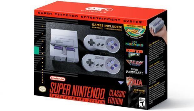 Super Nintendo Mini: nueva versión de la clásica consola llegará en setiembre