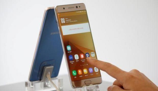 Samsung lanzará próximamente una versión reparada del polémico Galaxy Note 7