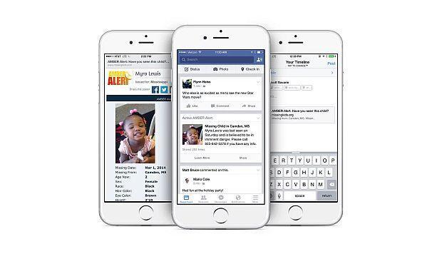 Facebook: ¿están funcionando las alertas AMBER?