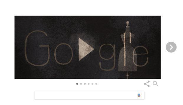 Google dedica un 'doodle' a la diseñadora Eiko Ishioka