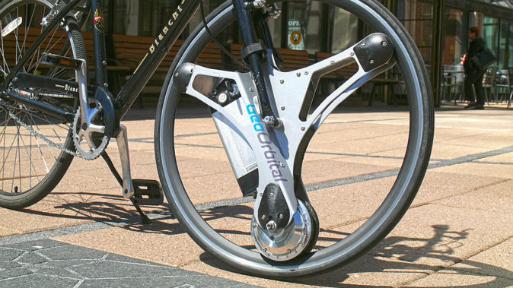 GeoOrbital, la rueda que transforma tu bicicleta en un vehículo eléctrico