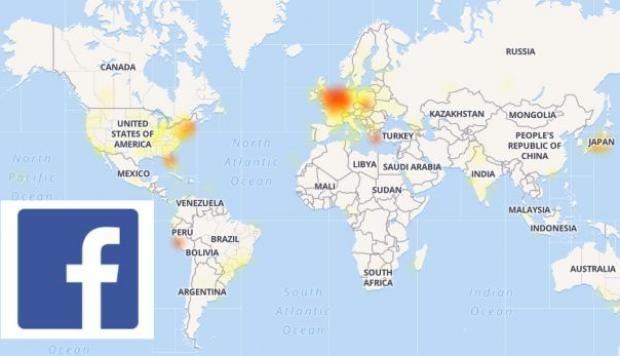 Facebook sufrió caída a nivel mundial