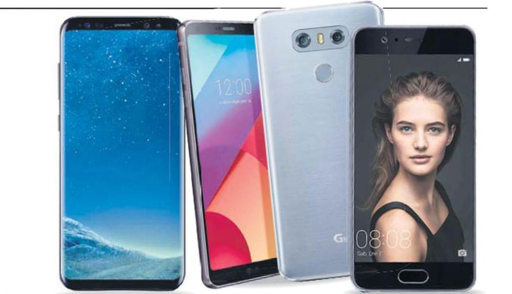 La guerra de los smartphones LG, Samsung y Huawei en el Perú