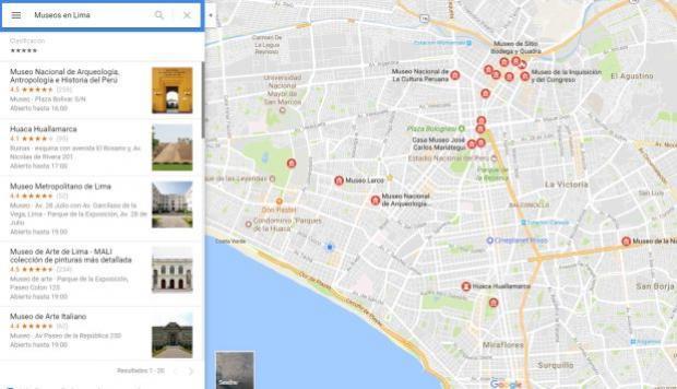 Google Maps te permitirá conocer distintos museos de Lima