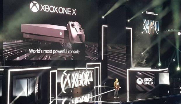 E3 2017: Microsoft presenta la Xbox One X