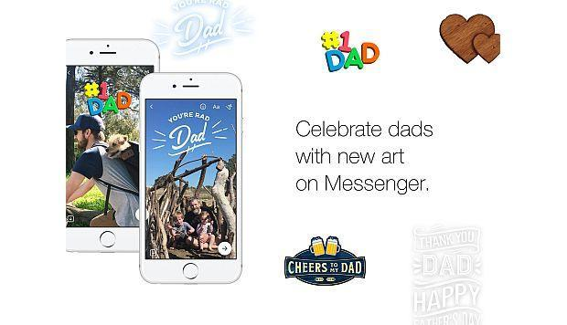 Facebook celebra el Día del Padre con estos filtros exclusivos