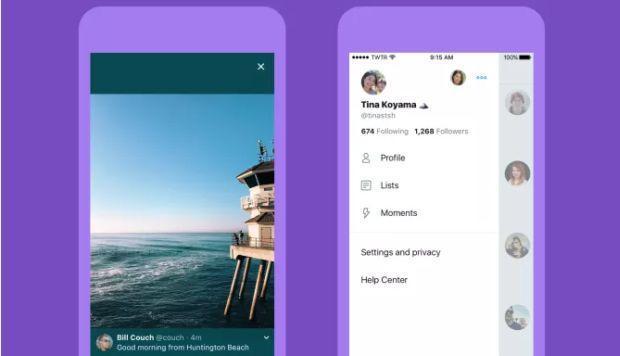 Twitter presenta nuevo diseño en los dispositivos móviles