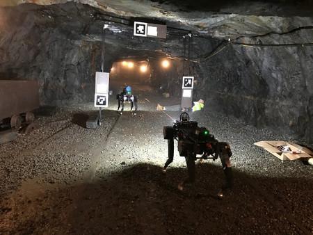 PLUTO: El perro-robot diseñado para rescatar personas en túneles