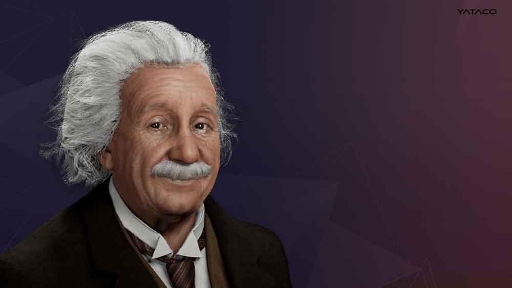 """Lanzan una recreación digital para """"hablar"""" con Albert Einstein"""