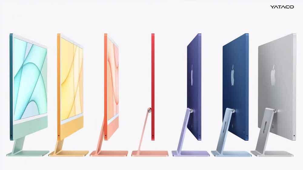 Estos son los iMac con Apple M1, una explosión de color