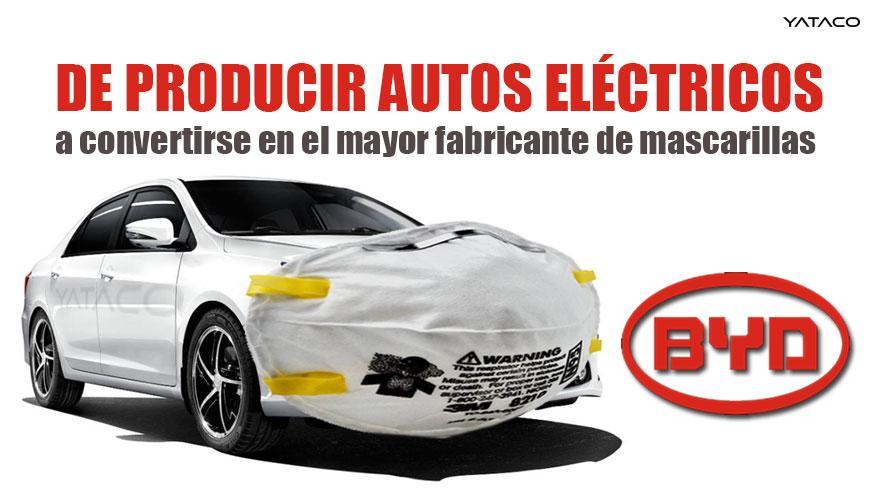 De producir autos eléctricos a convertirse en el mayor fabricante de mascarillas