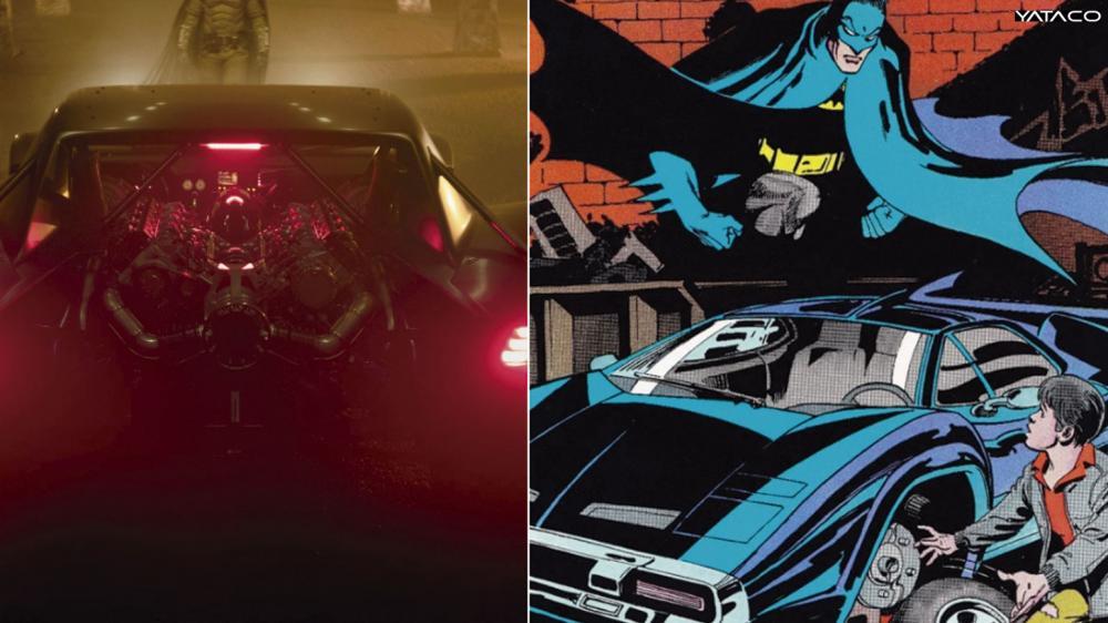 THE BATMAN: todo lo que se sabe sobre del nuevo Batimóvil del héroe de Ciudad Gótica