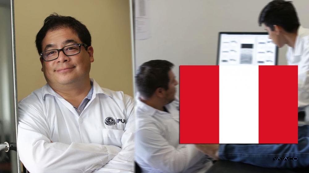 El ingeniero peruano que dedica sus días a innovar el diagnóstico de cáncer