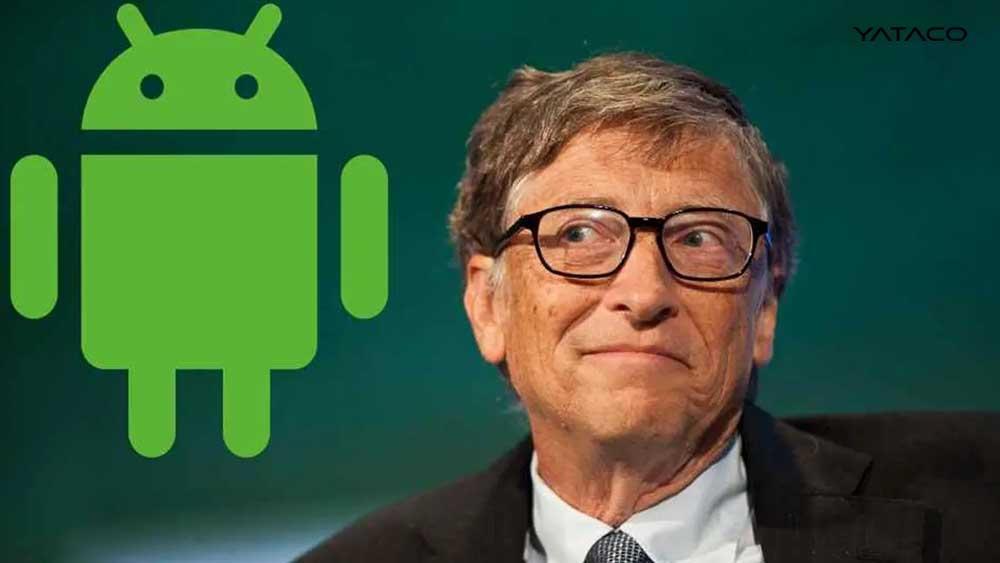 Bill Gates prefiere Android sobre iOS