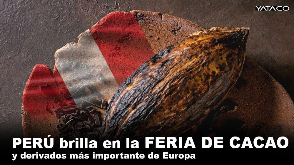COMPARTE UN ORGULLO PERUANO, Perú brilla en la feria de cacao y derivados más importante de Europa