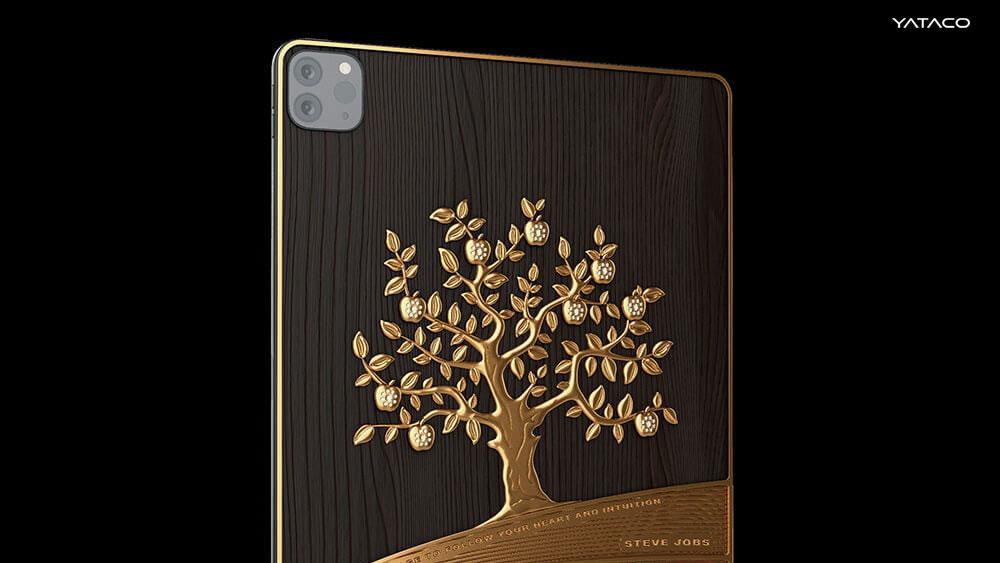 Caviar fabrica una lujosa iPad Pro elaborada con 1 kg de oro