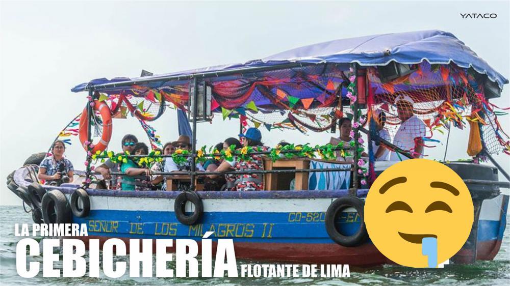 La primera cebichería flotante de Lima