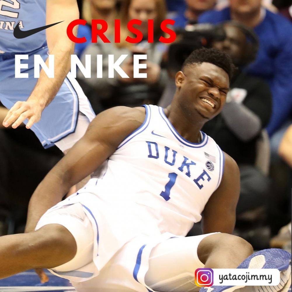 Crisis en Nike: zapatilla se rompe al iniciar partido y lesiona a un jugador