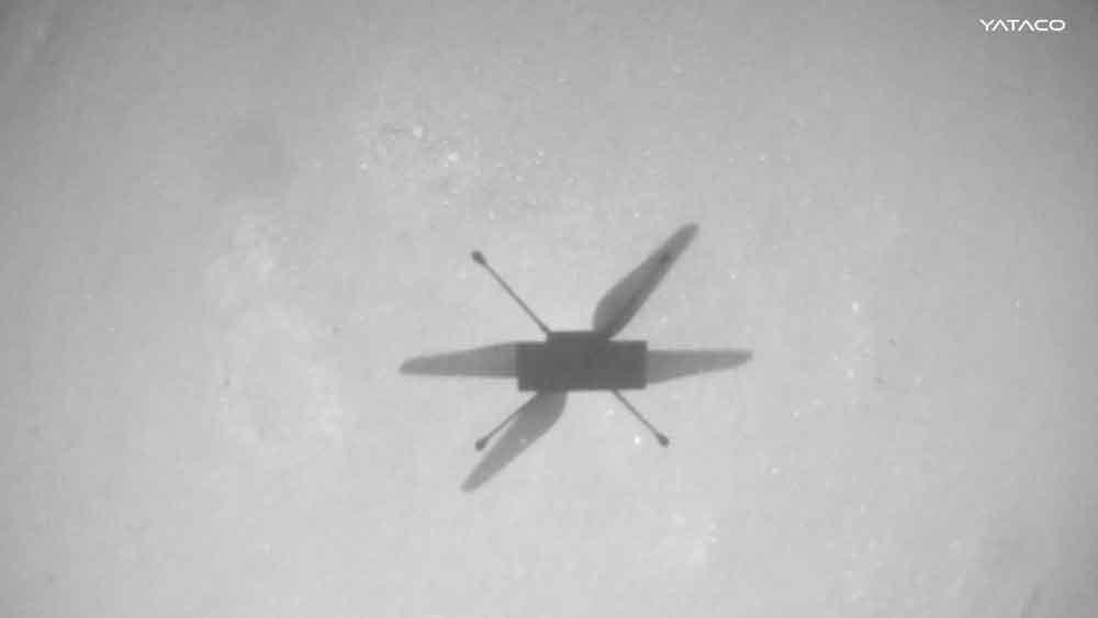 La NASA consigue que el dron Ingenuity vuele más de una milla en Marte