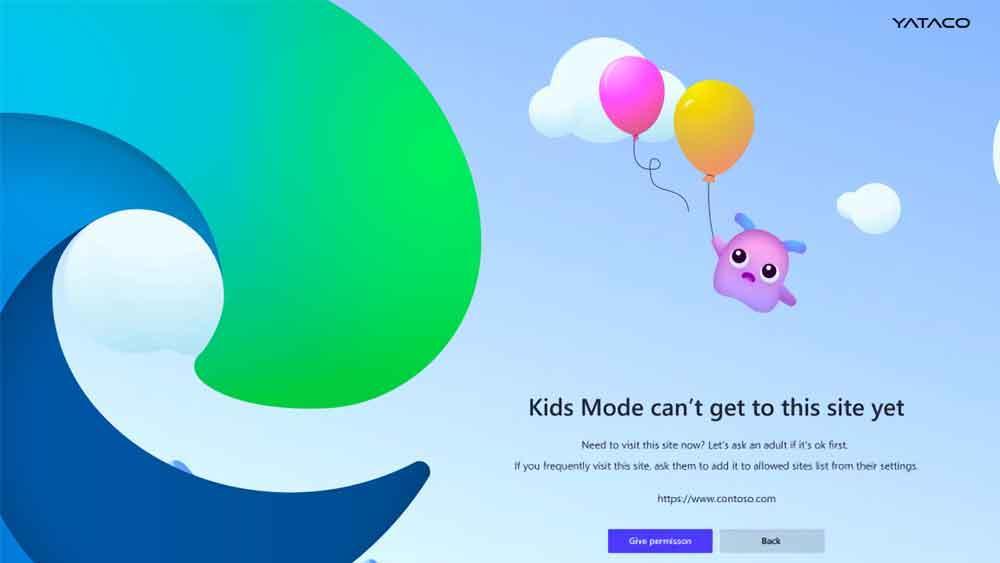 Navegador Edge para niños, lo último de Microsoft