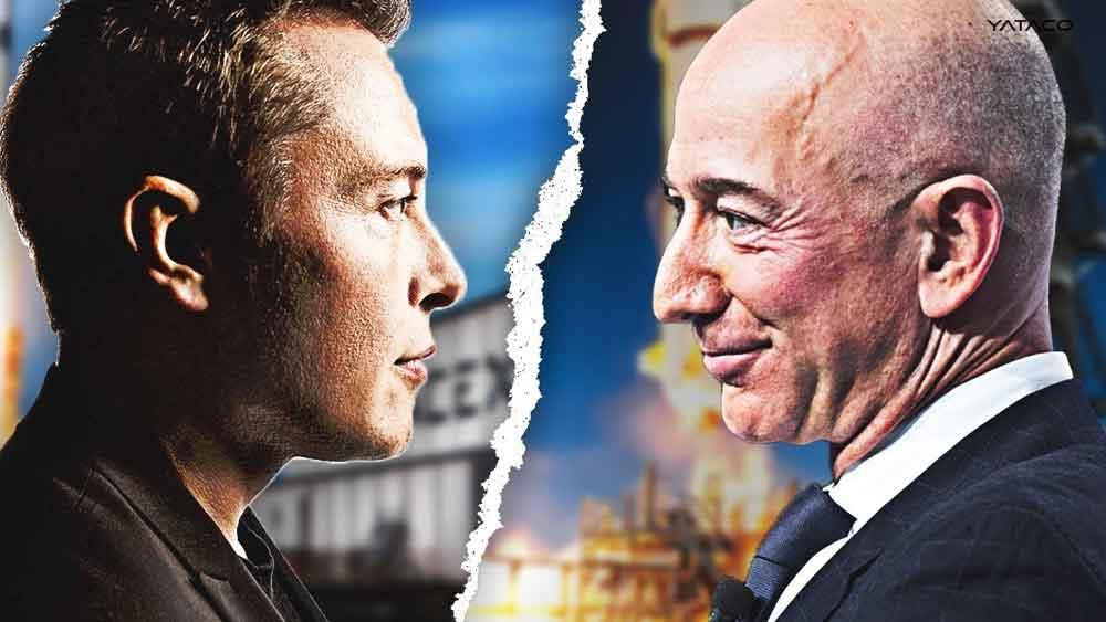 """Elon Musk contra Jeff Bezos se """"enciende"""" la carrera al espacio"""