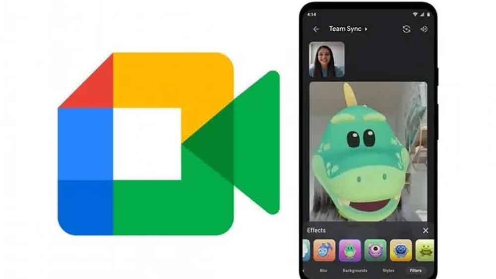 Google Meet añade filtros divertidos para competir con Zoom