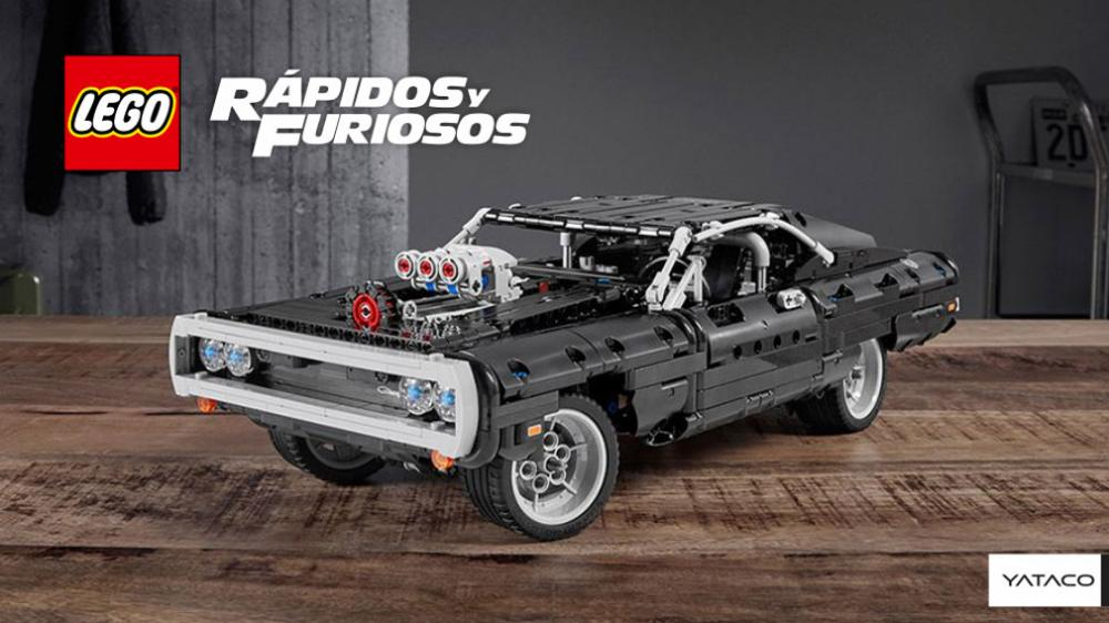 LEGO - Fast & Furious': el clásico Dodge Charger disponible en piezas de Lego