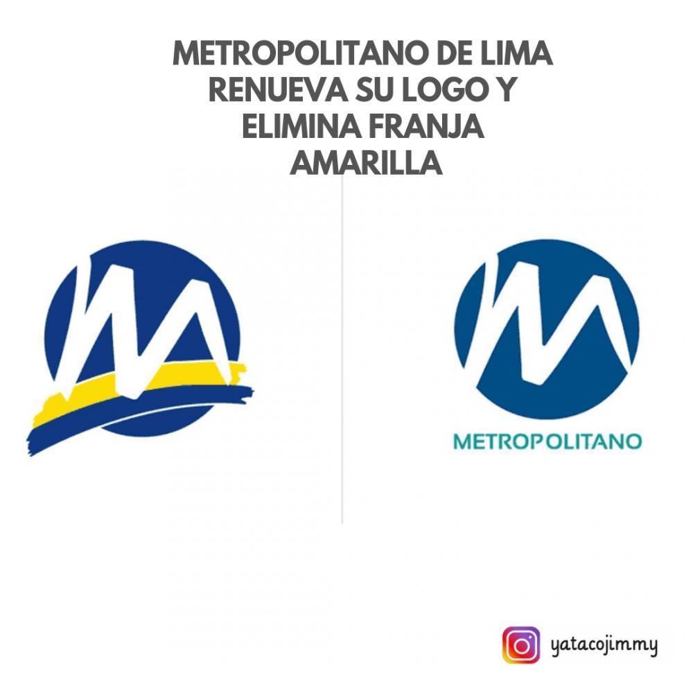 Metropolitano de Lima renueva su logo y elimina franja amarilla