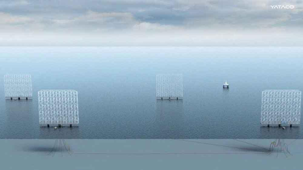 Energía eólica con multiturbina flotante