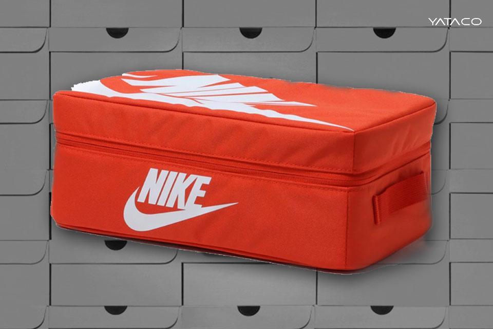 Nike da lección de diseño convirtiendo su icónica caja anaranjada en bolsa