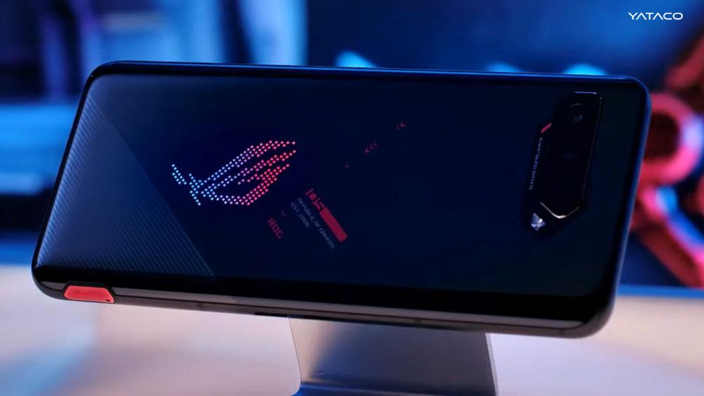 Asus y su poderoso celular Gamer ROG Phone 5 y tiene hasta 18 GB de RAM