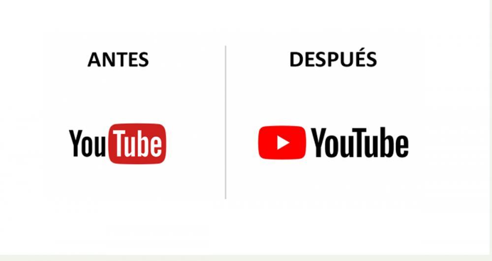YouTube cambia de logotipo por primera vez en su historia