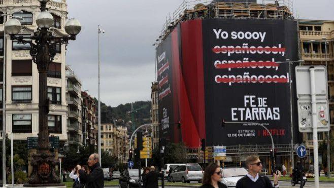 Yo soy español, el polémico cartel de Netflix indigna a usuarios