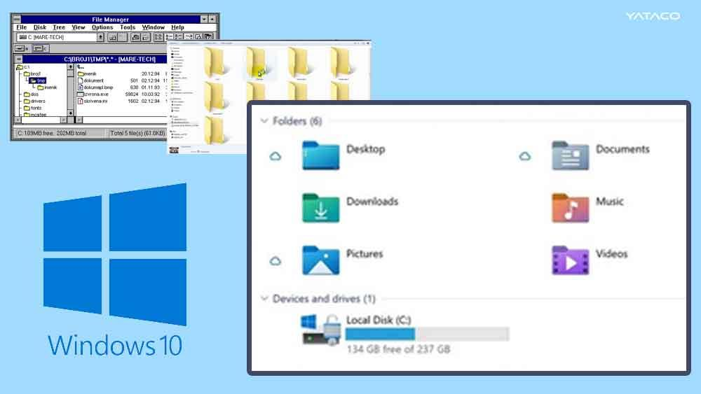 Las carpetas de Windows ya no serán amarillas, con la nueva actualización