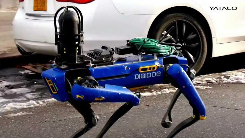 El perro robot de Boston Dynamics se hace policía y empieza una nueva etapa