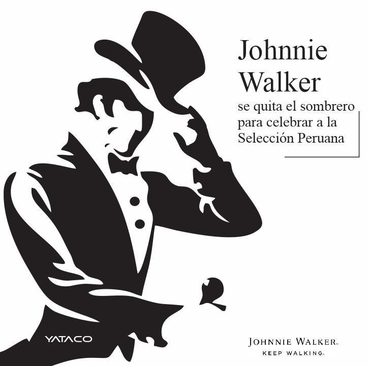 Johnnie Walker se quita el sombrero para celebrar a la Selección Peruana