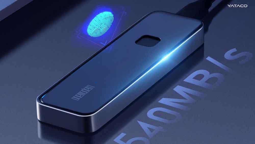 El nuevo disco duro PSSD de Xiaomi  con capacidad de 1 TB y se protege con la huella dactilar