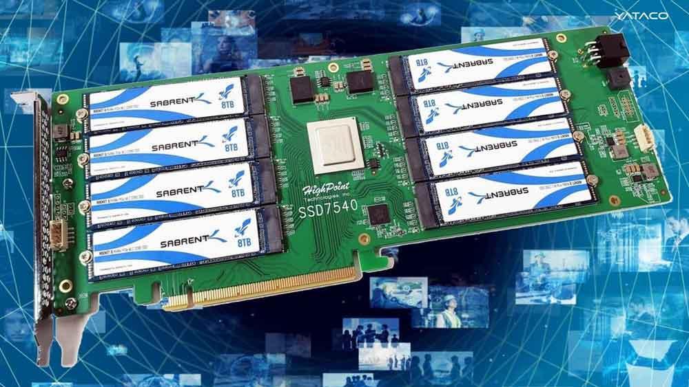 Un SSD de 64 TB que no es un tarjeta grafica